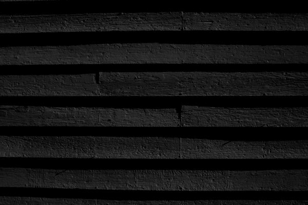 Black Painted Wooden Siding Texture Background