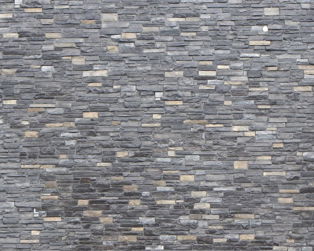 Black & Yellow Stone Wall Textures