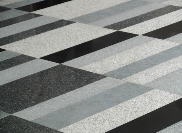 Black and White Marble Pattern
