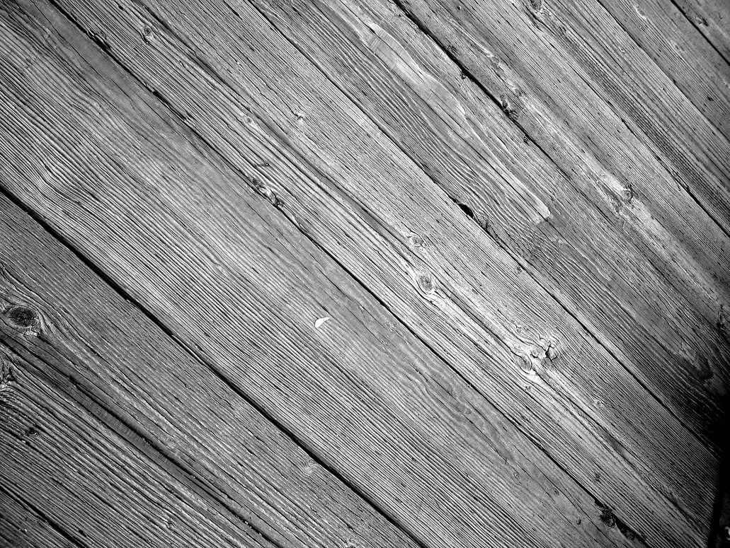 Black and White Old Wood Background