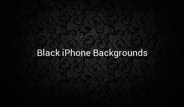 Black iPhone Backgrounds