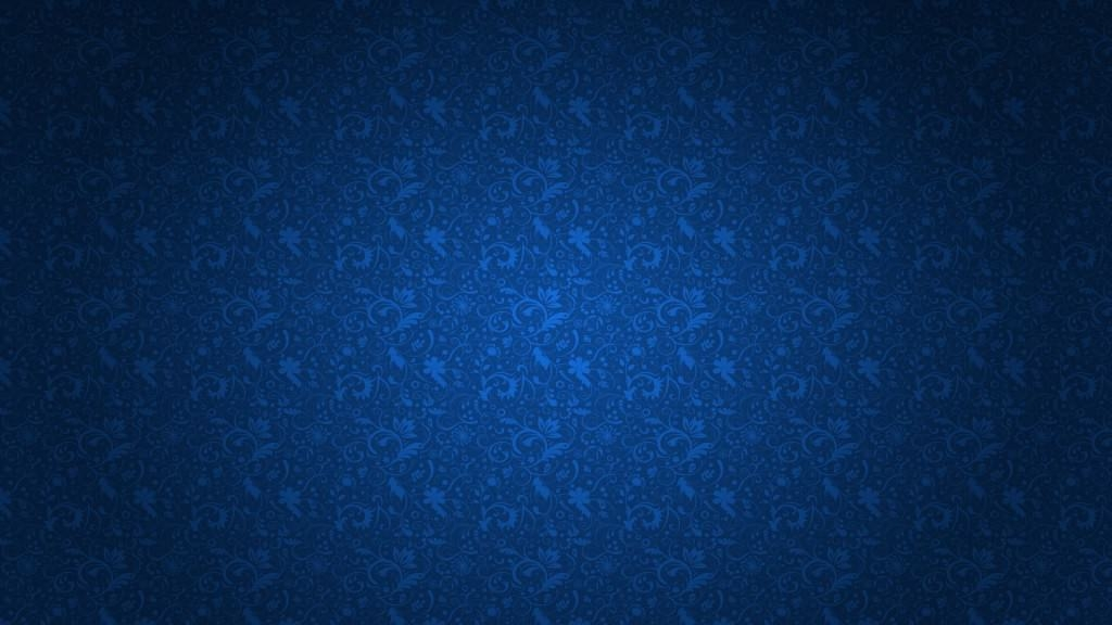 Blue Floral HD Pattern Wallpaper