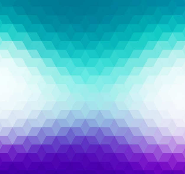 Blue Geometric Background in Gradient Style