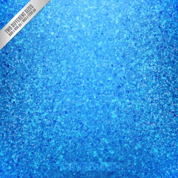 Blue Glitter Background Free Vector