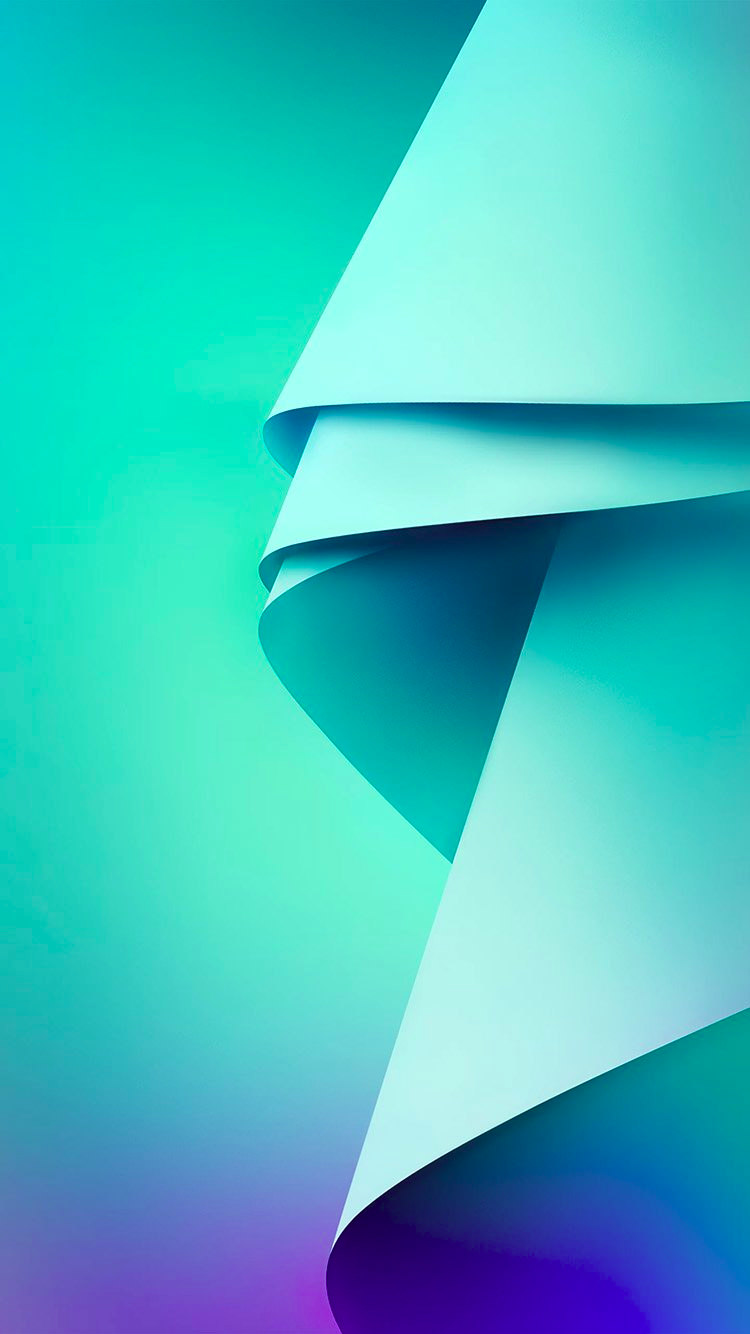 Blue & Green Abstract Background For iPhone 6