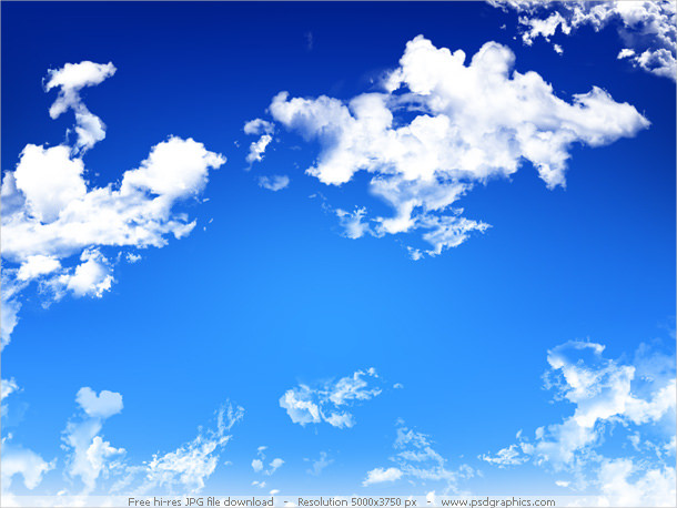 Blue Sky Background For Free Download