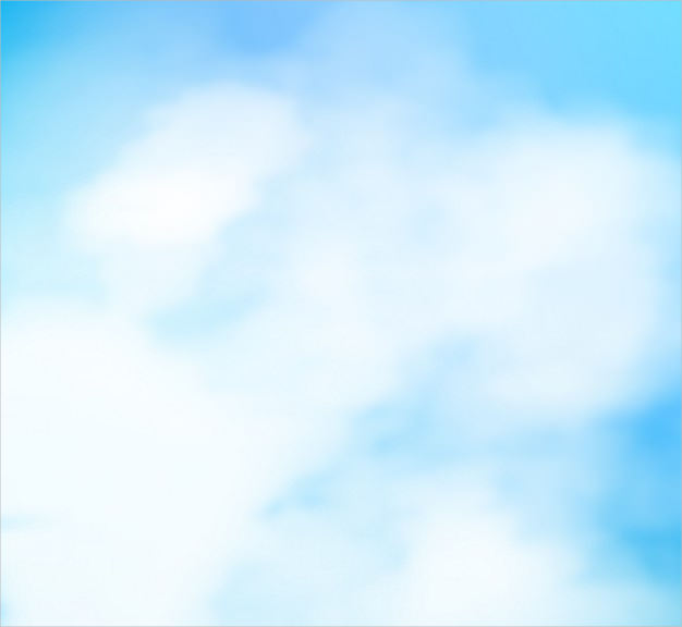 Blue Sky Blue Watercolor Background Free