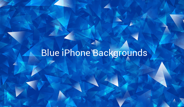 Blue iPhone Backgrounds