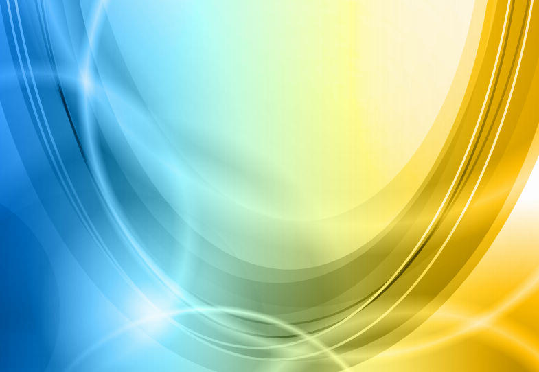 Blue to Yellow Sweep Abstract Background