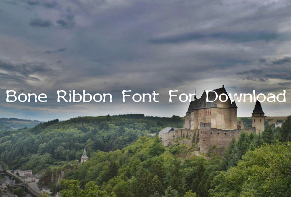 Bone Ribbon Font For Download
