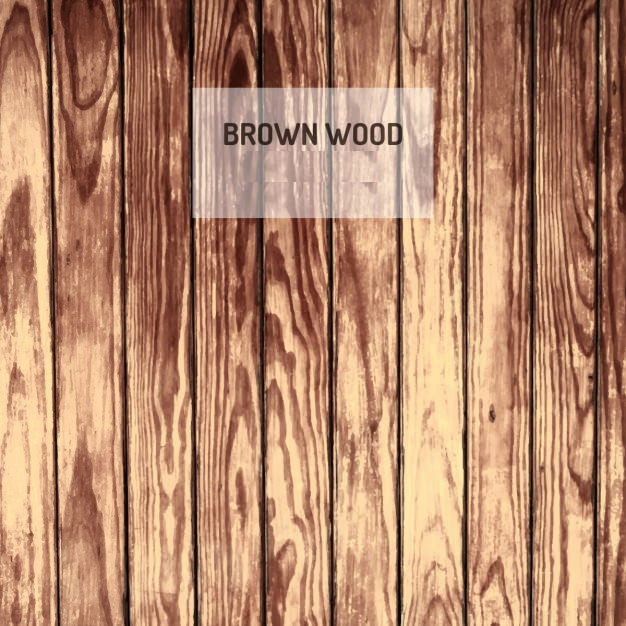 Brown Wood Background Free Vector