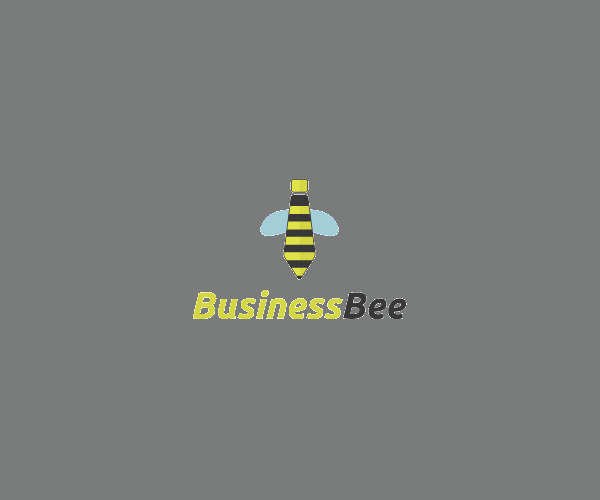 Business Bee Tie Logo Design For Free
