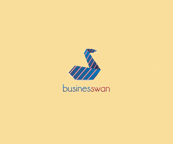 Business Swan Logo For Free