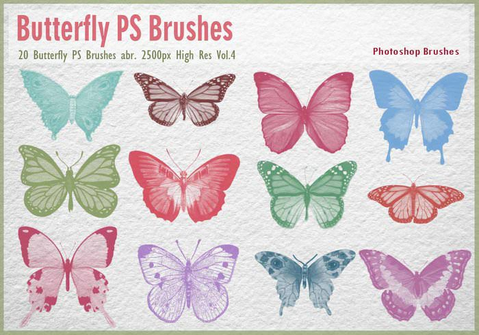 Butterfly PS Brushes