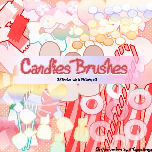 Candies Brushes Pack