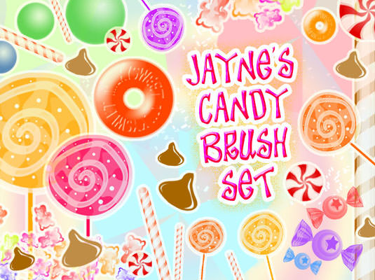Candy Brush Set