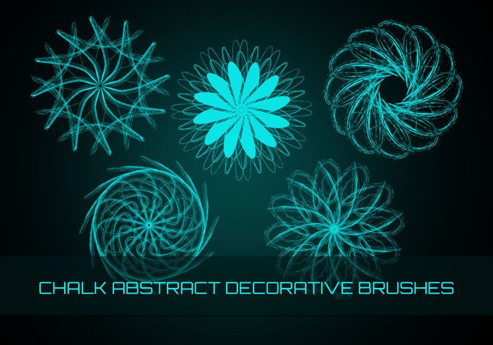 Chalk Decorative brushes for Free
