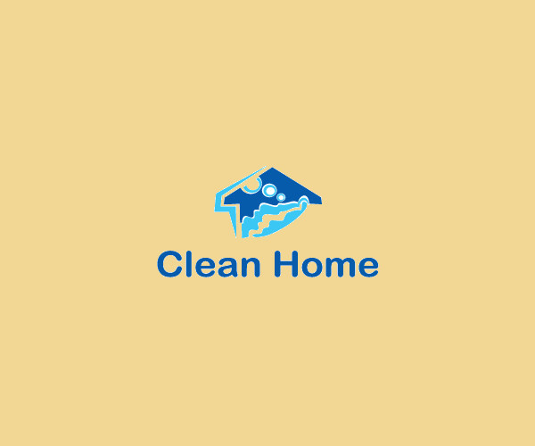 Clean Home Service Logo For Free