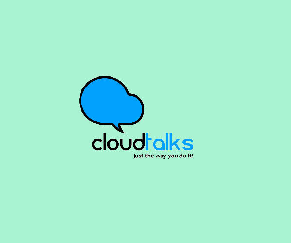 Cloud Talk Logo Design For Free