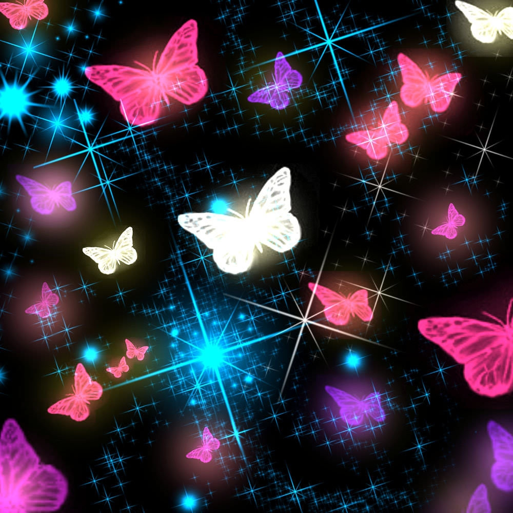 Colorful Butterfly Photoshop Brushes