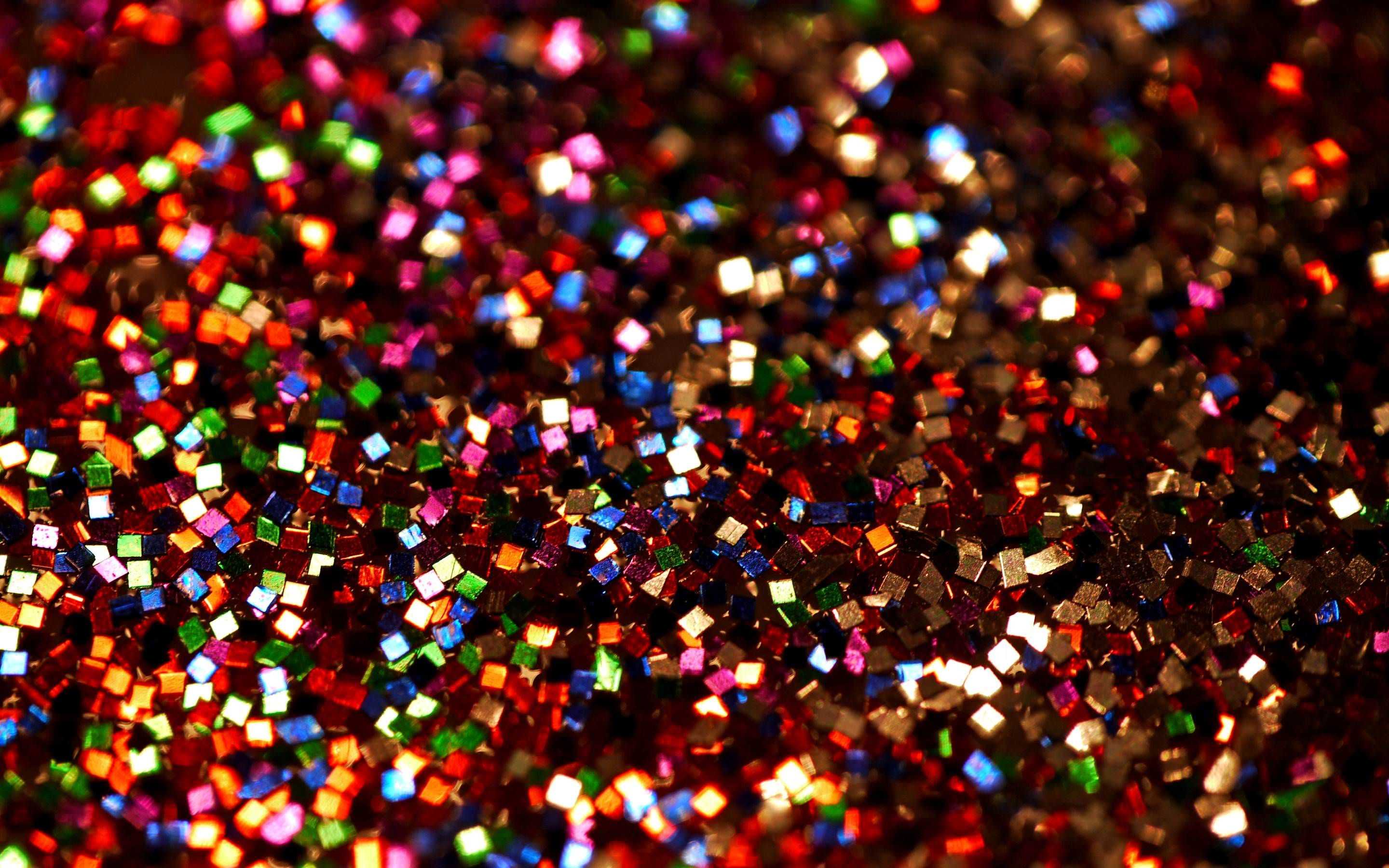Colorful Glitter Wallpaper Background