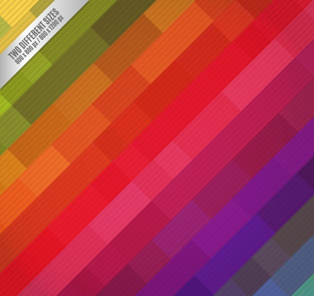 Colorful Striped Rainbow Pattern For Free