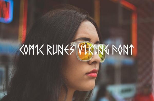Comic Runes Viking Font