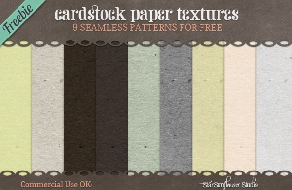 Cool Cardstock Photoshop Texture