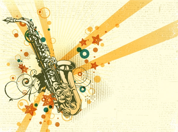 15 Music Vintage Backgrounds Illustration Freecreatives