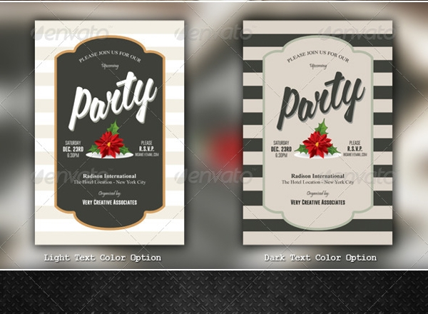 corporate holiday invitation