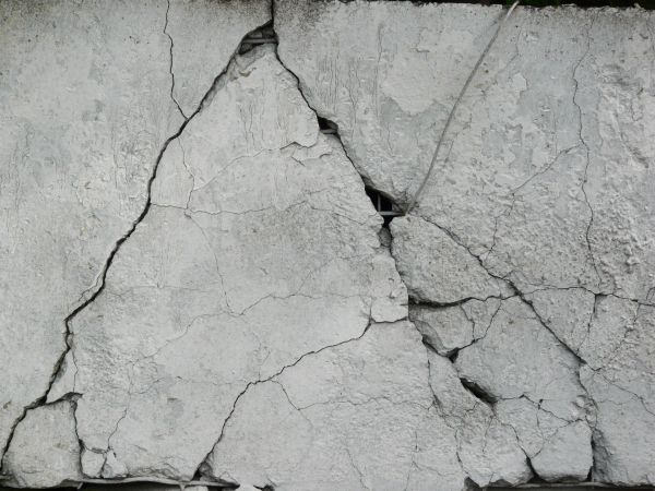 Cracked White Concrete Texture For Free