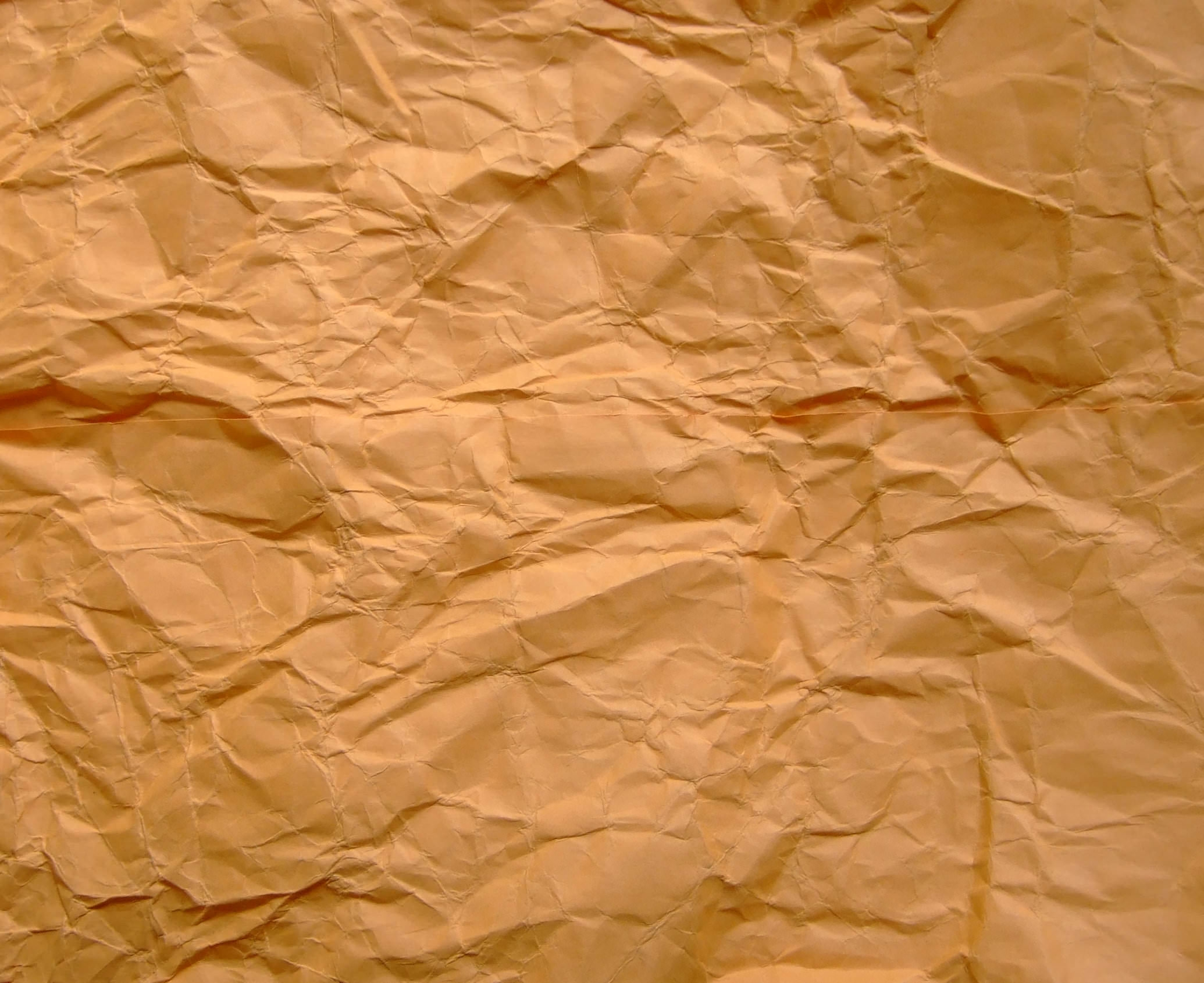 Crumpled Brown Paper Texture for Designers