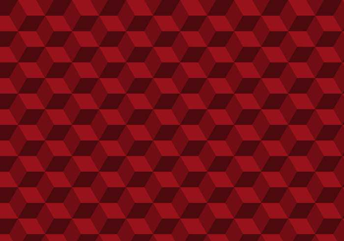 Cubic Free Seamless Red Texture