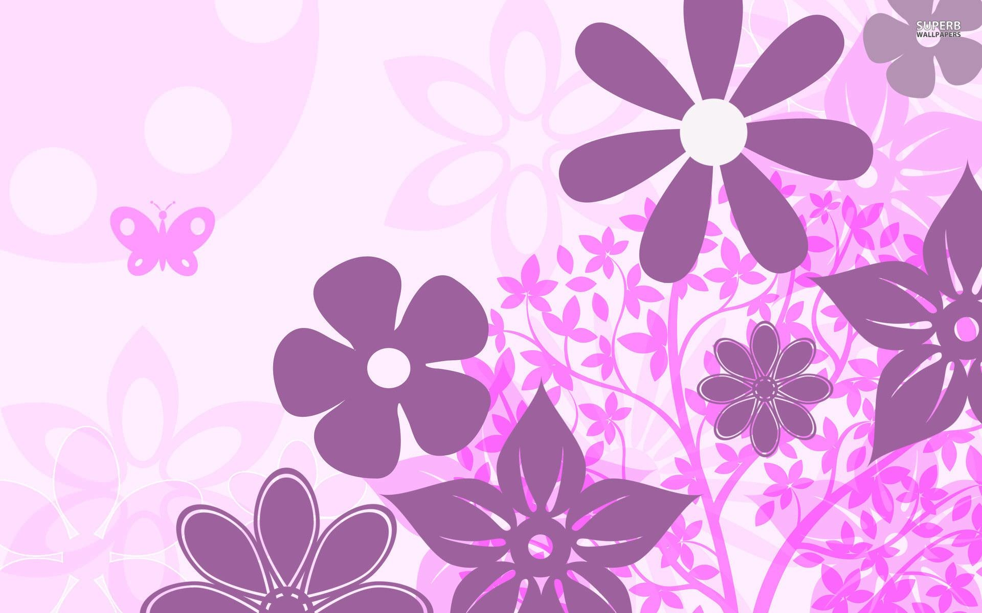 10+ Purple Floral Wallpapers | Floral Patterns | FreeCreatives
