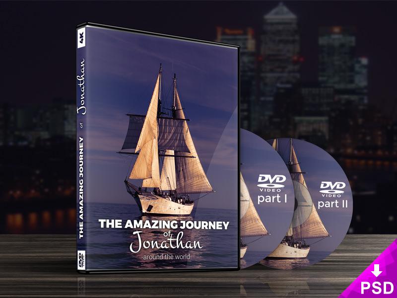 dvd case mock up