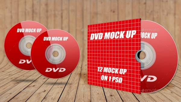 dvd cover mockup photoshop