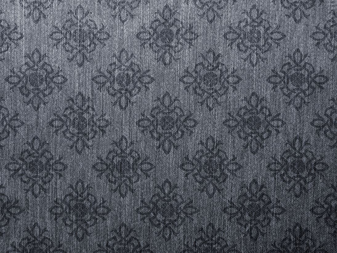 Damask Vintage Grey Canvas Texture Background