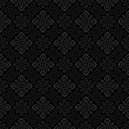 Dark Ornate Seamless Floral Pattern