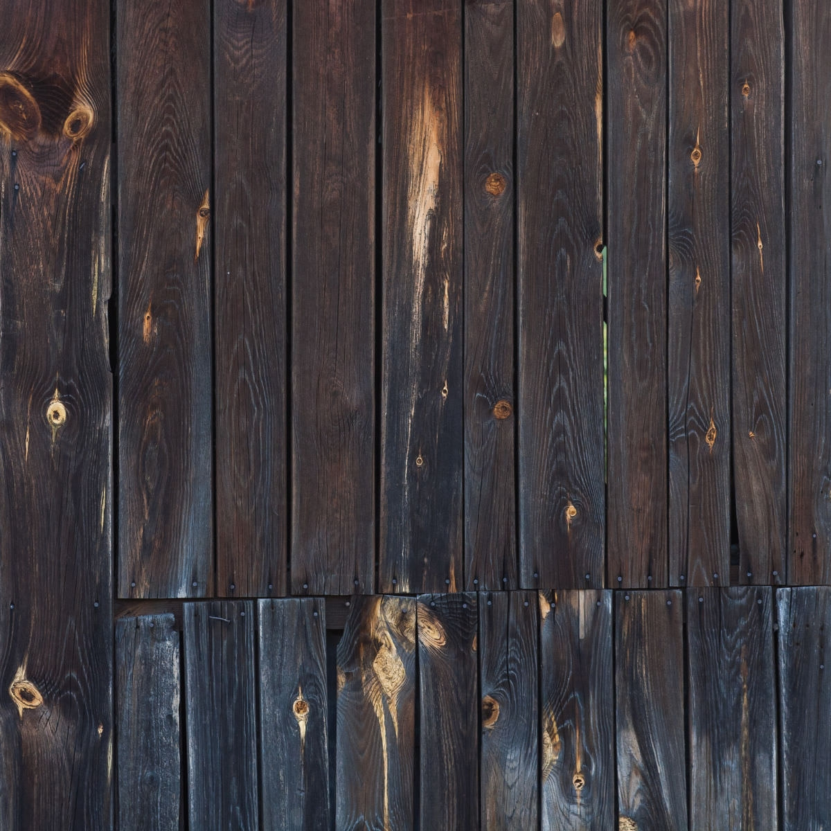 Dark Wooden Planks Texture Background