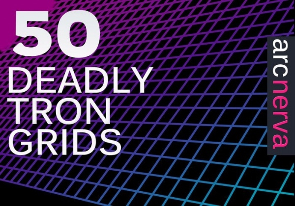 Deadly Tron Grids Brushes