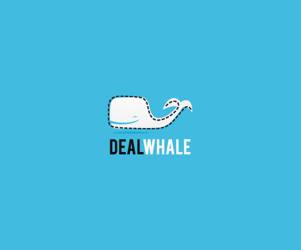 Deal Whale Logo Design For Free