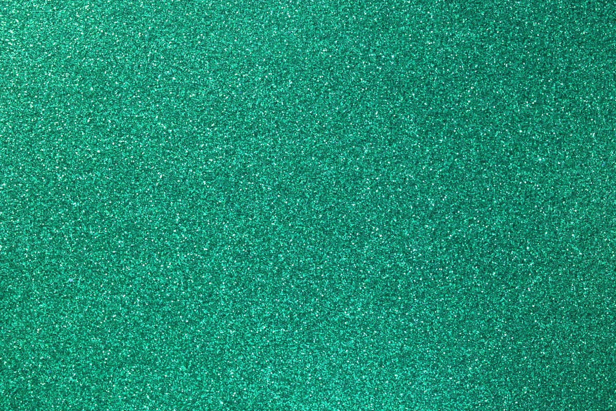 Decorative Green Glitter Paper Texture