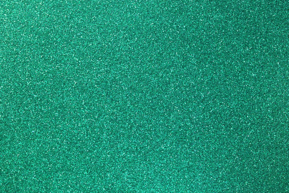 Decorative Green Glitter Paper Texture