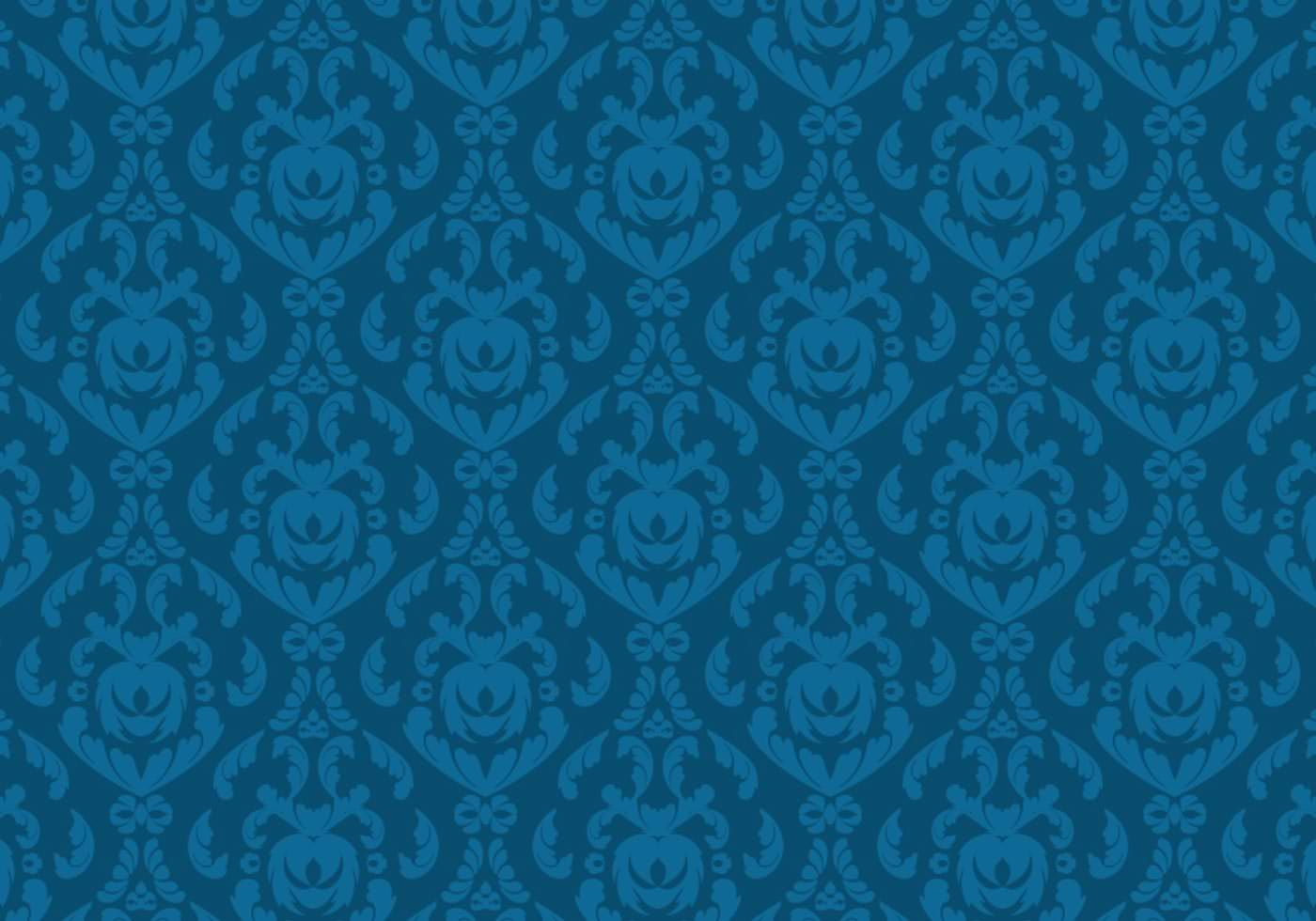Decorative damask Wallpaper Pattern