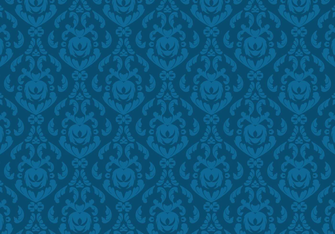 Decorative damask Wallpaper Pattern