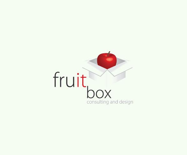 Delightful Fruit Box Logo For Free