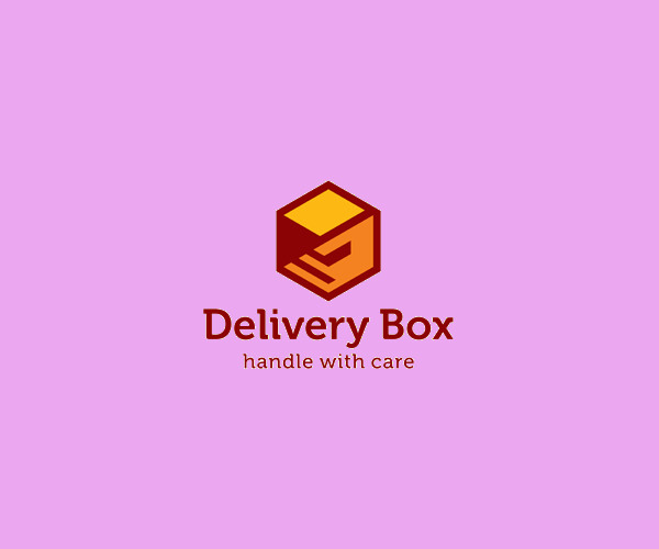 Delivery Box Logo For Free
