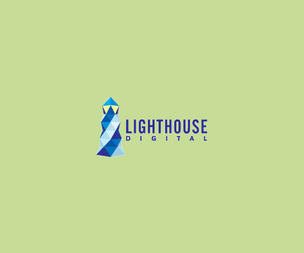Digital Light House Logo Design For Free