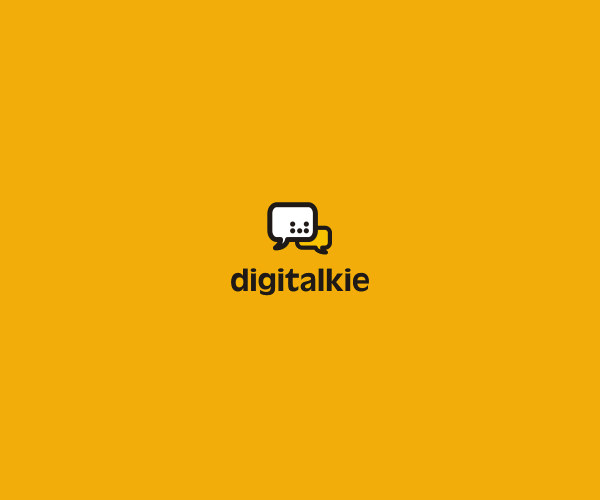 Digital Talk Logo Design For Free