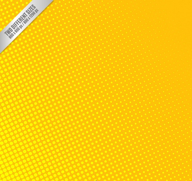 Dotted Yellow Background For Free